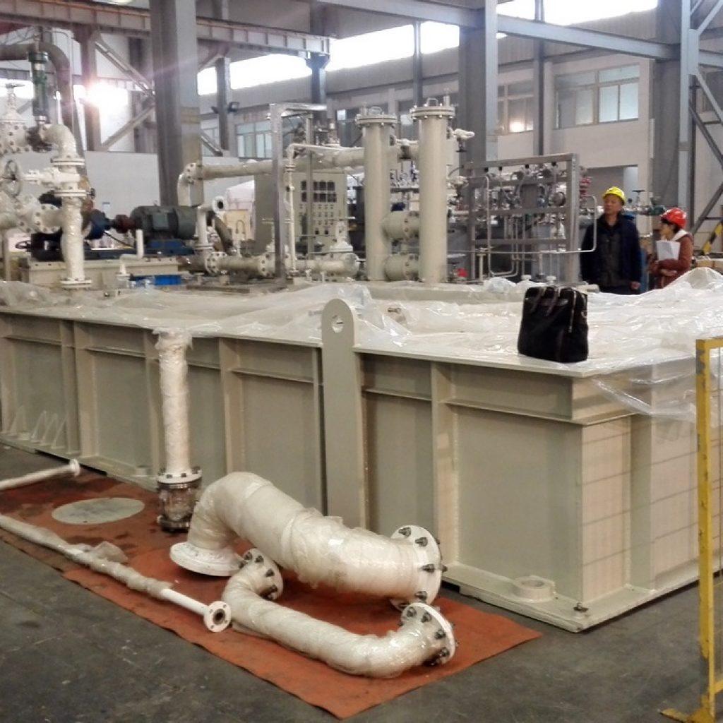 بررسی عملکردی تجهیزات پکیج Propane Compressor برای پروژه فاز ۱۳ پارس جنوبی