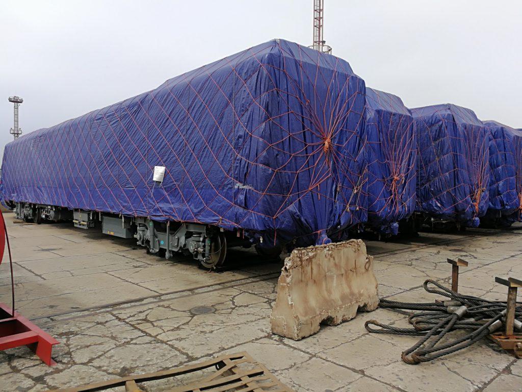 بررسی نهایی و پیش از حمل واگن های مترو اصفهان و تبریز در کارخانه CRRC واقع در Nanjing