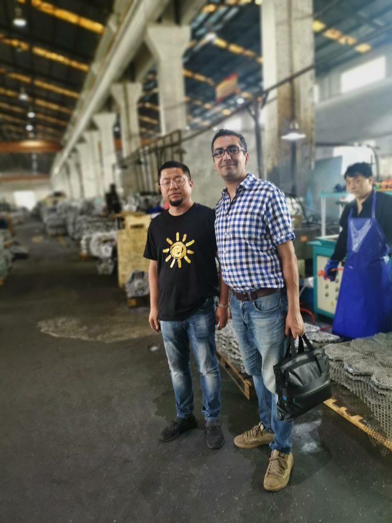سورسینگ قطعات موتور دیزل در چین